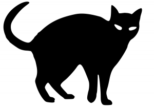 word cloud creator black cat